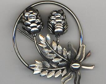 vintage acorn pin