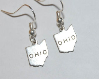 Ohio Earrings - Silver