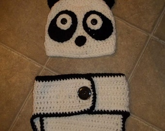 baby diaper set with hat and diaper cover