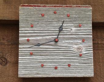 Small Barnwood Wall Clock