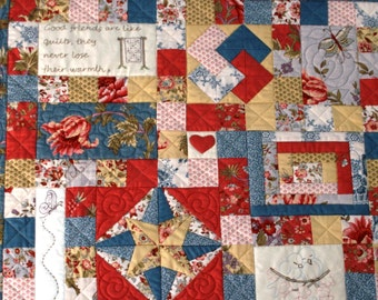 Friendship Quilt Block of the Month- Block 1