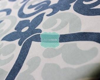 Fabric by the Yard - Premier Prints Cotton - ALEX - PREMIER NAVY - Home Decor Cotton Linen Fabric