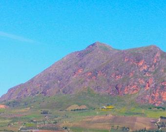 View from San Ciperello, Sicily