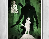 The Last Of Us minimalist poster - Video Game