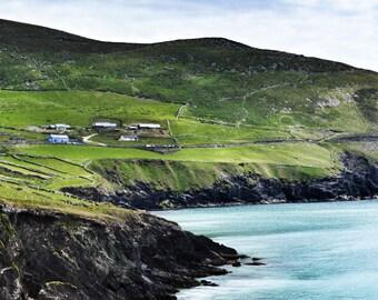 Ireland Photography, Irish Photo, Ireland Sea Photo, Ireland Landscape, Dingle Peninsula, Irish Print, Irish Home Decor