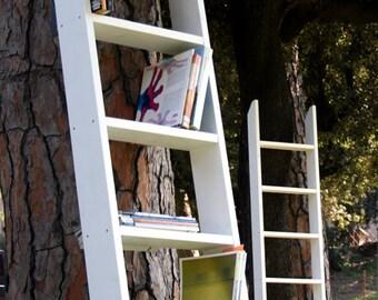 """Wall bookcase """"Scalo"""" _ Design Rigodritto Interiors"""