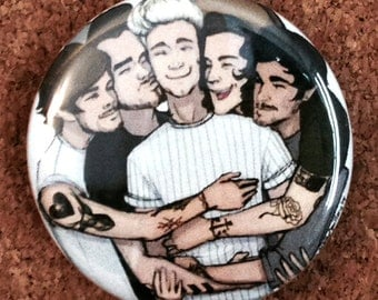 Group Hug Pin
