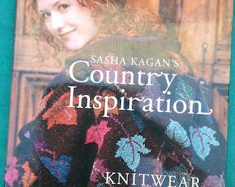 Sasha Kagan's Country Inspiration,  Hardcover Book HUGE PRICE REDUCTION
