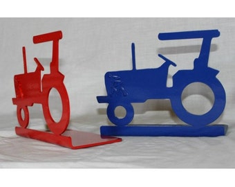 TRACTOR BOOK ENDS