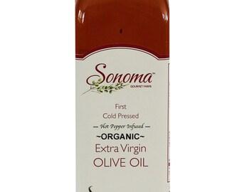 Organic Hot Pepper Extra Virgin Olive Oil 25.5 oz