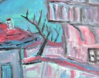 European art oil painting landscape expressionism