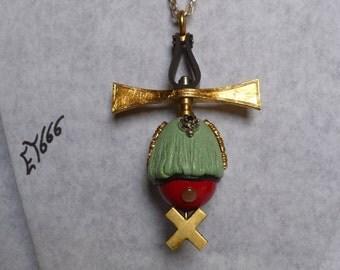 Jewelry designer pendant. The Georgian cross