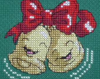 KL82 Cheery Bells Counted Cross Stitch Kit