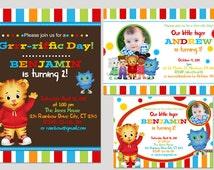 DIY Printable Daniel Tiger Birthday Party invitation 002
