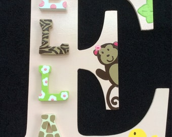 Jungle Jill Hand Painted Letters (Version1)