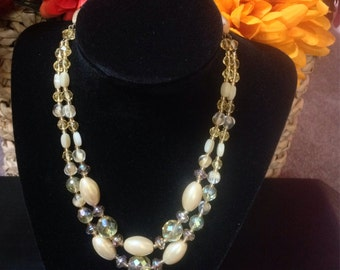 1930s West Germany Glass bead necklace