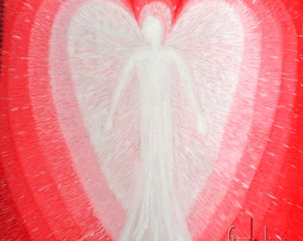 Angel of unconditional love, Angel, hand made