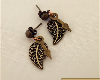 Hands of Autumn - Earrings
