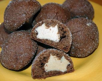 Chocolate Peanut Butter Munchie Cookies