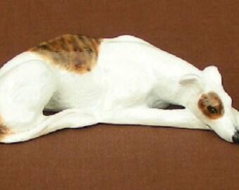 Greyhound Dog Figurine