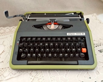 Vintage, Typewriter, Hebros, Retro, Old, Typist, Portable, Manual, Letter, Office