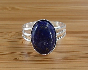 popular items for lapis lazuli ring on etsy. Black Bedroom Furniture Sets. Home Design Ideas