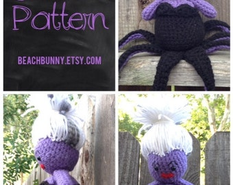 Ursula PDF Crochet Pattern from The Little Mermaid