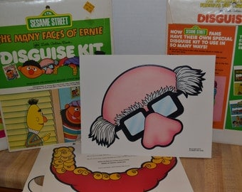 1980 Sesame Street Disguise Kit
