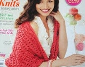 Knitting Patterns Your Knitting Life June July 2012 Paper Original NOT a PDF