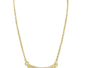 Lone Bridge Gold Plated Necklace