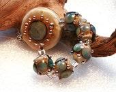 Jeanniesbeads Lampwork  Beads  3250