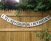 It Is Your Birthday - Party Garland Paper Banner