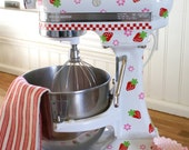 Cottage Strawberry Kitchenaid Decals