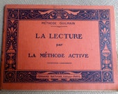 1939 French Reading Method - La Méthode Active - Illustrated