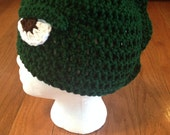 Godzilla Beanie Godzilla Hat --all sizes available newborn through adult