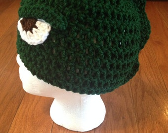 Godzilla Beanie Godzilla Hat --all sizes available newborn through adult