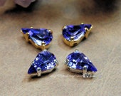 Tanzanite Vintage Glass C...