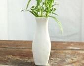 Simple Porcelain Bud Vase