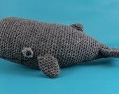 Sperm Whale - PDF amigurumi crochet pattern