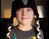 Child Teen Adult Unisex Homemade Crochet Racing Pigeon Hat - Custom Made - Great Gift Idea