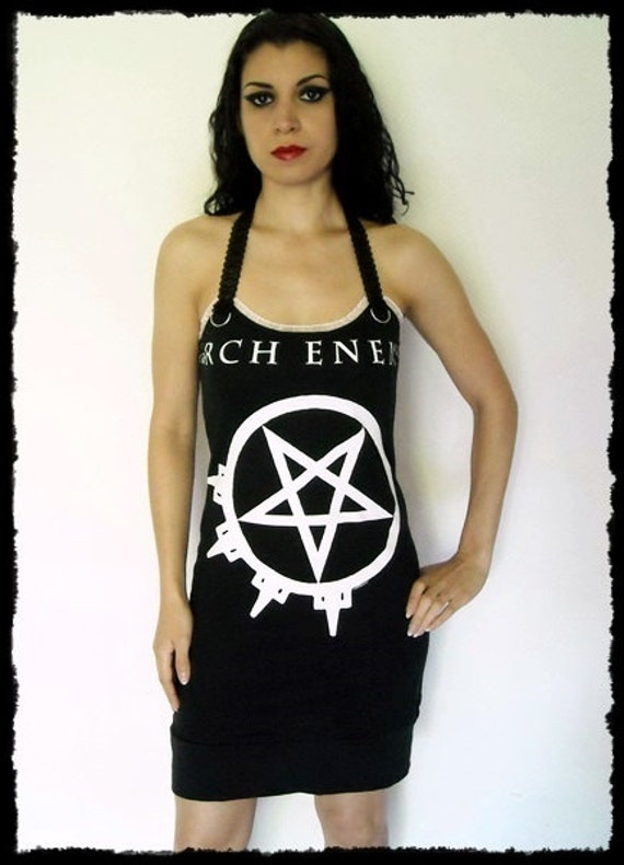 Arch Enemy shirt Death Metal Mini Dress metal clothing alternative ...