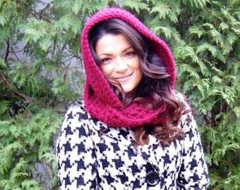 DIGITAL DOWNLOAD for Scoodie (Scarf/Hoodie) Crochet Pattern