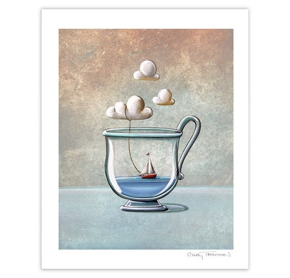 Seafarer Series Limited Edition - The Steam Boat - Signed 8x10 Matte Print (9/10)
