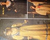 1999 Renaissance Costume Halloween Pattern, Renaissance, Medieval, Village, Queen, Princess, Pattern 8192 Size N 10,12,14, Andrea Schewe
