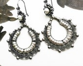 Beautiful filigree with pearls from Oaxaca. Sale