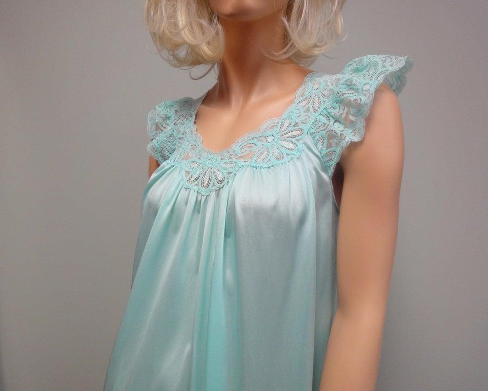 Nightgown Sleeves Nylon 24