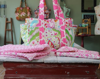 Custom Baby Shower Gift Set Diaper Bag