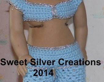 18 inch American Girl Crochet Pattern - Jasmin