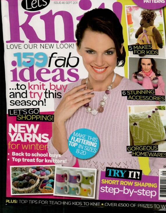 Let's Knit Knitting Magazine Issue 46 September 2011