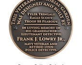 Eagle Scouts Circular Plaque 12 inch Diameter Made in the USA by Atlas Signs and Plaques